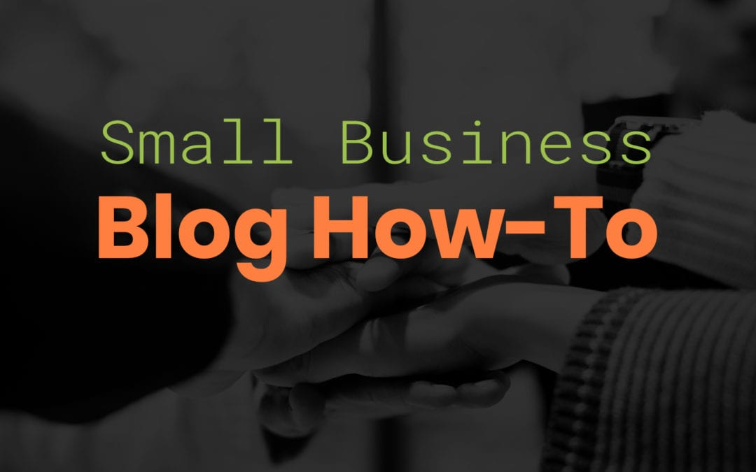 How to blog on a small business budget