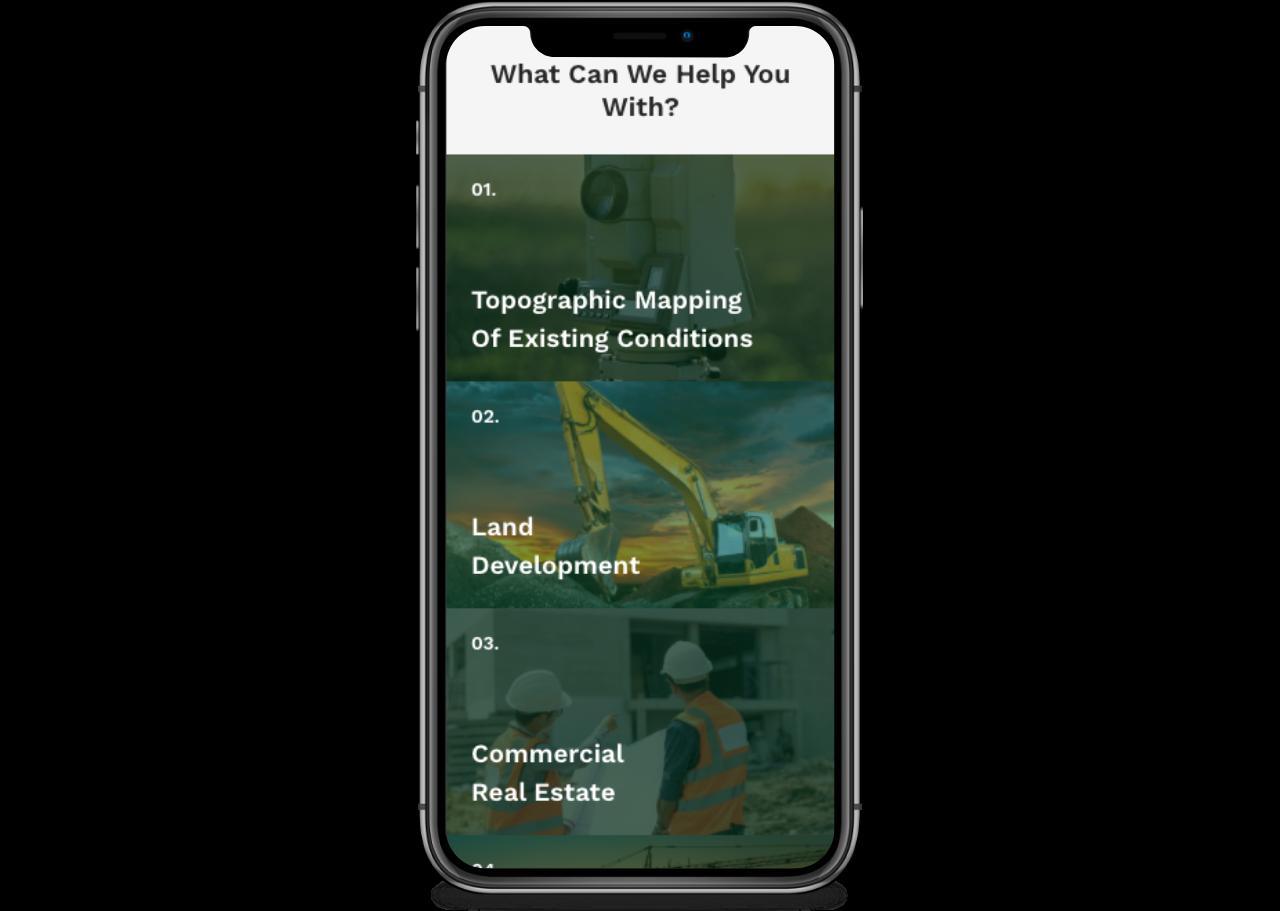 contractor website smartphone ready