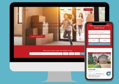 Local Real Estate Brokerage Website Design & Development