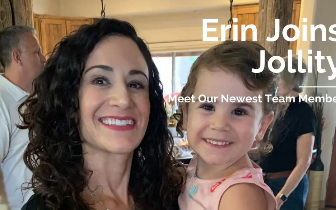 Erin Joins the Jollity Team